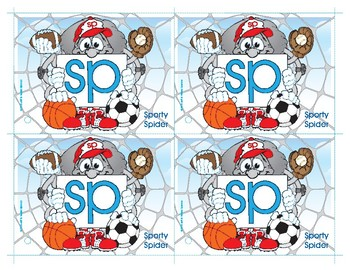 SP (Sporty Spider) Blend Buddy Card