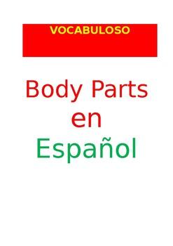 SP VOCABULOSO Body Parts
