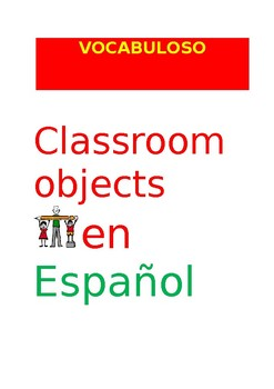 SP VOCABULOSO Classroom Objects
