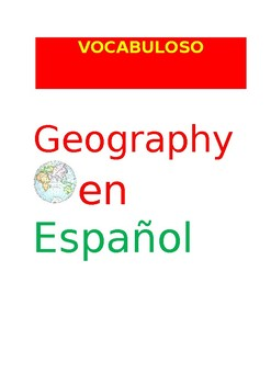 SP VOCABULOSO Geography