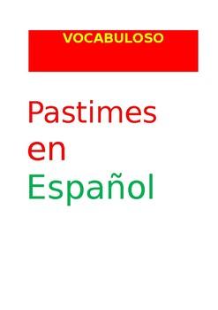 SP VOCABULOSO Pastimes