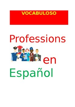 SP VOCABULOSO Professions