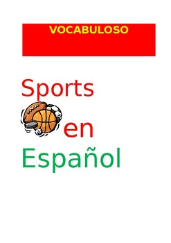 SP VOCABULOSO Sports
