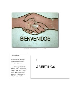 SPA 101  |  Beginning Spanish 1