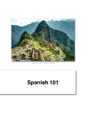 SPA 101     Beginning Spanish 1