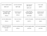 SPACE BINGO (English)