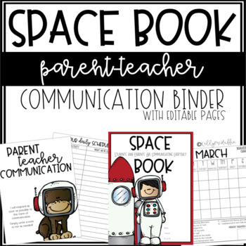 SPACE Communication Binder - Editable