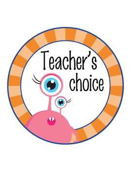 SPACE - Classroom Decor: Behavior Clip Chart editable MS Word