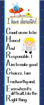 SPACE - Classroom Decor: LARGE BANNER, CHARACTER