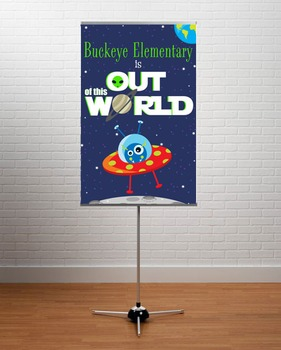 SPACE - Classroom Decor: MEDIUM BANNER, Out of this World