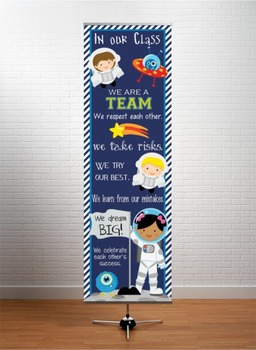 SPACE - Classroom Decor: X-LARGE BANNER, In Our Class...
