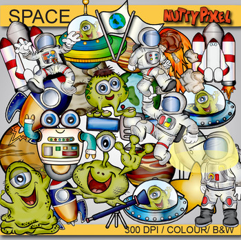 SPACE - ClipArt