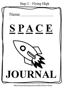 SPACE Journal  STEP TWO - Learning How To SPACE Between Words!