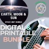 Earth Moon Phases and Sun Interactive Notebook