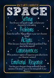 SPACE Narrative Writing Poster/Graphic