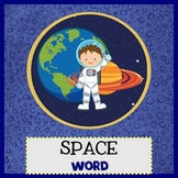 SPACE KIDS - Newsletter Template WORD