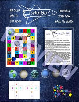 SPACE RACE:Addition & Subtraction