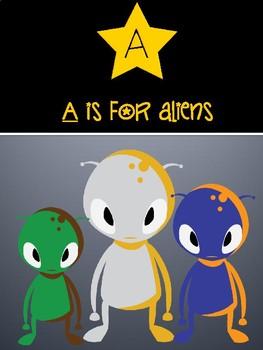 SPACE THEME ALPHABET PRESENTATION!