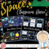 SPACE THEME Classroom Decor - Mega Pack +230 Pages - Back to school