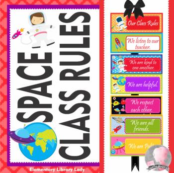 SPACE Theme Class Rules - EDITABLE