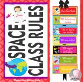 Space Decor Class Rules - EDITABLE