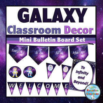 SPACE Theme Classroom Decor-PURPLE