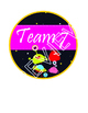 SPACE Theme Team & Table Circle Signs - EDITABLE