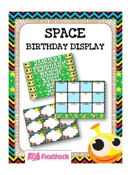 SPACE Themed Birthday Displays