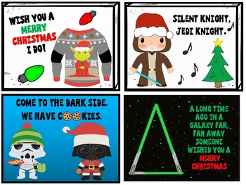 Star Wars Themed Christmas Gift Tags