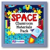 SPACE Themed Classroom Decor Bundle