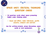 SPACE critical thinking questions