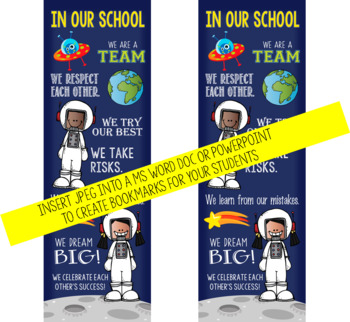 SPACE kids {melonheadz} - Class Decor: LARGE BANNER, In Our School