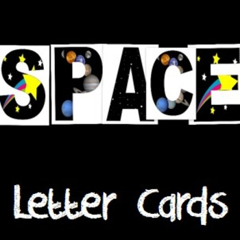 SPACE letters
