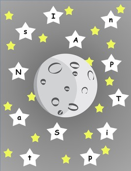 SPACE literacy and math activity pack