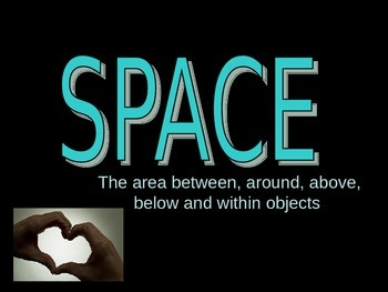 SPACE positive and negative space power point