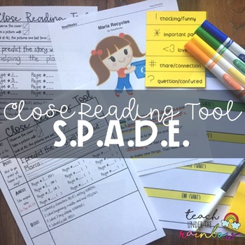 SPADE Close Reading Tool