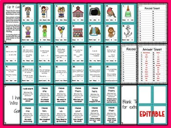 SPAG: Pronouns Practice and Revision Bundle {UK Teaching Resources}