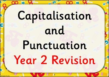 SPAG REVISION: Year 2 Punctuation Revision and Practice {UK Teaching Resources}