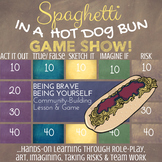 SPAGHETTI IN A HOT DOG BUN Lesson on Courage, Self-Esteem & Empathy