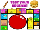 """SPANISH 1, 2 pre-post test """"game"""" assessment, also in Engl"""
