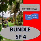 SPANISH 4 CULTURE BUNDLE - 14 CONTENT-BASED UNITS
