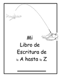 SPANISH A to Z Handwriting Journal Pages