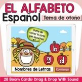 SPANISH ALPHABET (El Alfabeto)- FALL THEME