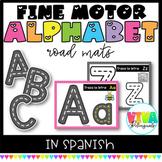 SPANISH ALPHABET LETTER ROAD MATS
