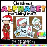Navidad   Christmas Alphabet Matching Cards in Spanish