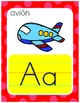 SPANISH ALPHABET  MULTICOLOR POSTERS