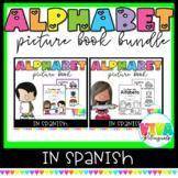 Libros del Alfabeto | Spanish alphabet picture book | Bundle