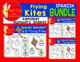 SPANISH - ALPHABET - SHAPES - NUMBERS FLYING KITES BUNDLE