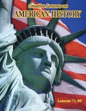 SPANISH-AMER WAR, WWI, WWII & MORE Lessons 71-80/100 American History Curriculum