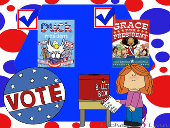 SPANISH AND ENGLISH **Freebie** Voting Grace and Duck for
